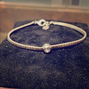 Silpada Take a Bow bracelet